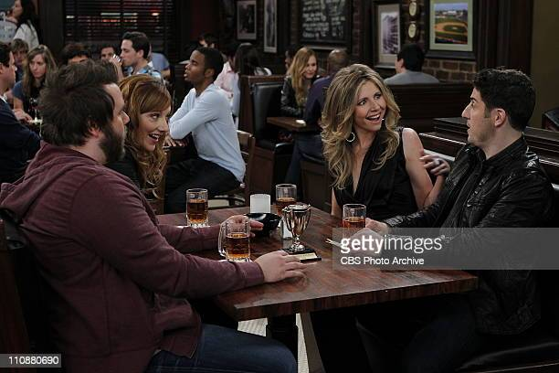 'Pub Quiz' Larry Connie Kate and Ben meet at the pub for the weekly quiz on MAD LOVE Mondays on the CBS Television Network