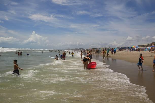 Public Beach at Cape Canaveral on the Atlantic Ocean