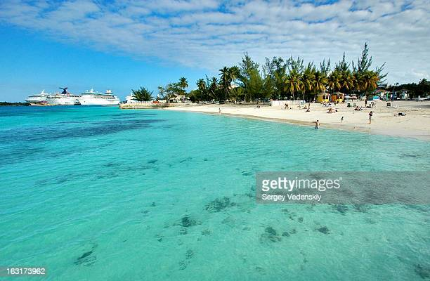 CONTENT] A public beach at Nassau The Bahamas