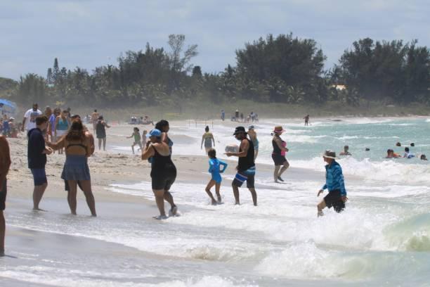 Public Beach at Sanibel Island Florida
