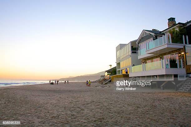 Public beach in Malibu