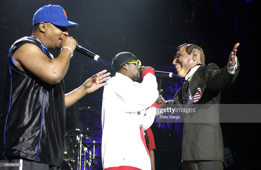 Public Enemy during 10th Annual Rock the Vote Patrick Lippert Awards at Roseland Ballroom in New York City, NY, United States.