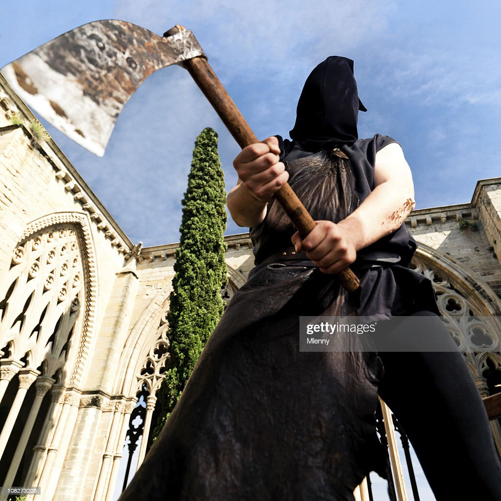 Public Executioner With Axe High Res Stock Photo Getty