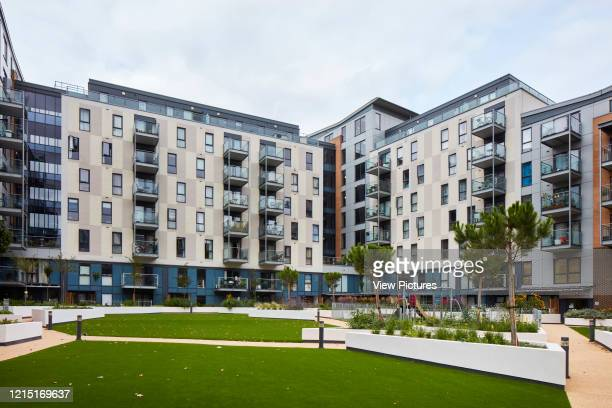 Public grteen and housing block Canning Town London United Kingdom Architect N/A 2017