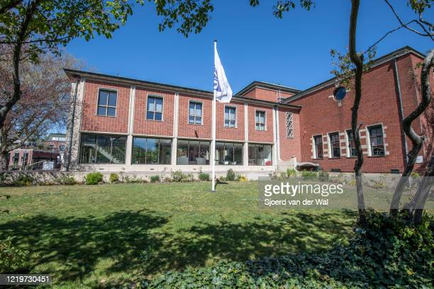Public Health Service office of the Region Zwolle GGD IJsselland Dutch Municipal health service in Zwolle on April 19 2020 in Zwolle Netherlands The...