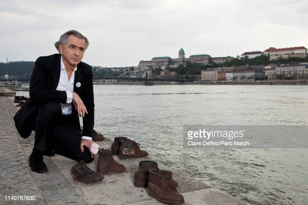 Public intellectual Bernard Henri Levy is photographed for Paris Match on April 9 2019 in Budapest Hungary
