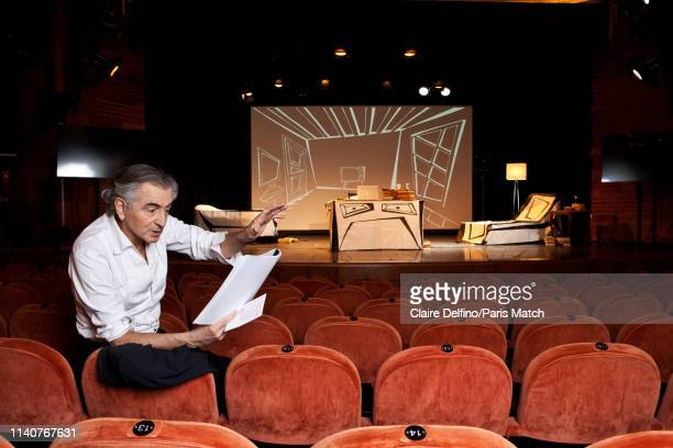 Public intellectual Bernard Henri Levy is photographed for Paris Match on April 10 2019 in Budapest Hungary