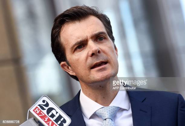 Public Interest Advocacy Centre CEO Jonathon Hunyor speaks to the media after commencing proceedings in the High Court in Sydney seeking to stop the...