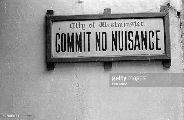 public nuisance - 1939 stock-fotos und bilder