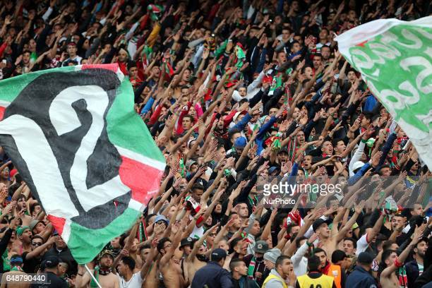 Public Of MC Alger in the derby match against USM Alger at the July 5 stadium. Algiers on