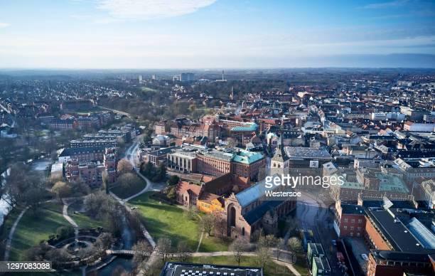 オーデンセ市の公共公園 - オーデンセ ストックフォトと画像