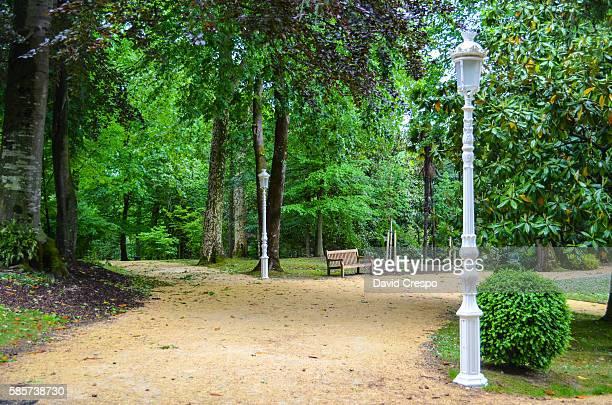 public park - san sebastian spain stock pictures, royalty-free photos & images