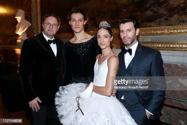 Public Relations Director of the RenaultNissan Alliance Claude Hugot Star Dancer Hugo Marchand Star Dancer Dorothee Gilbert and her husband James...
