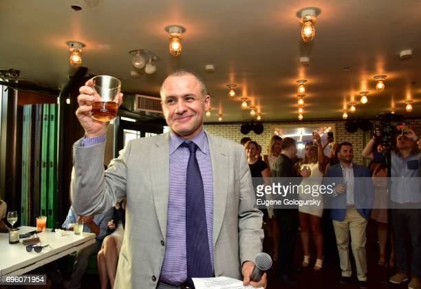 Public Relations Ronn Torossian speaks during 5WPR 15th Anniversary Event at Catch Rooftop on June 14, 2017 in New York City.