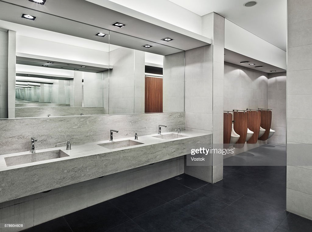 large public bathroom. public restroom in a large shopping mall istanbul : stock photo bathroom
