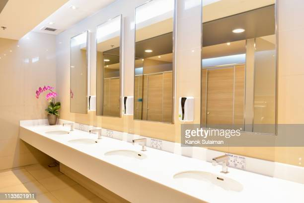 public restroom - public restroom stock pictures, royalty-free photos & images