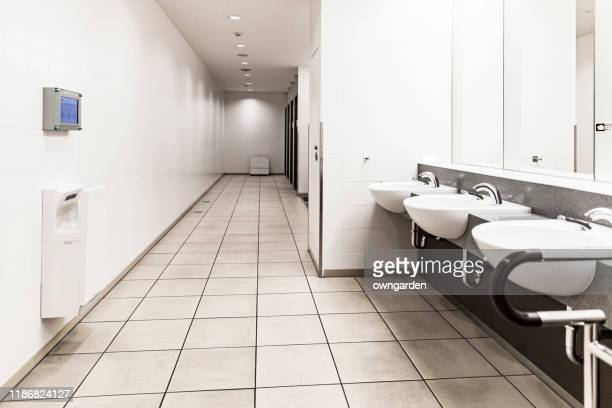 public restroom - public toilet stock pictures, royalty-free photos & images
