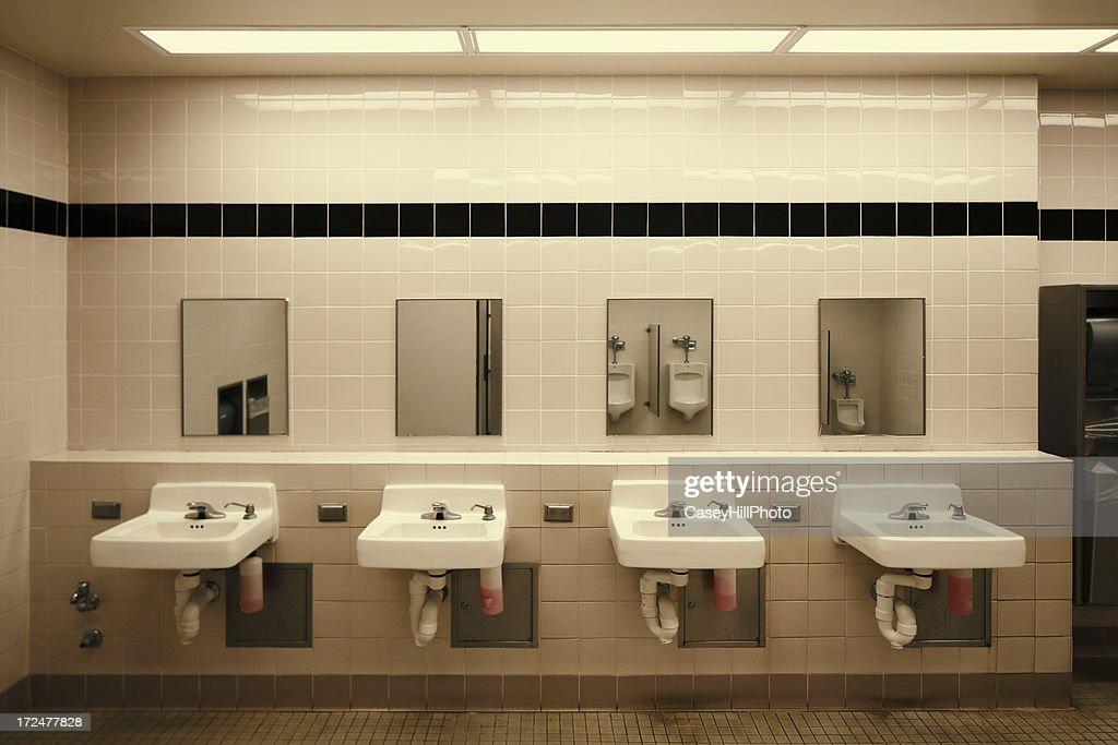 Public Restroom : Stock Photo