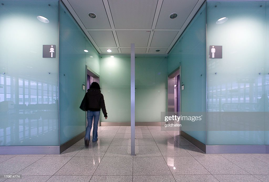Modern Public Bathroom High-Res Stock Photo - Getty Images