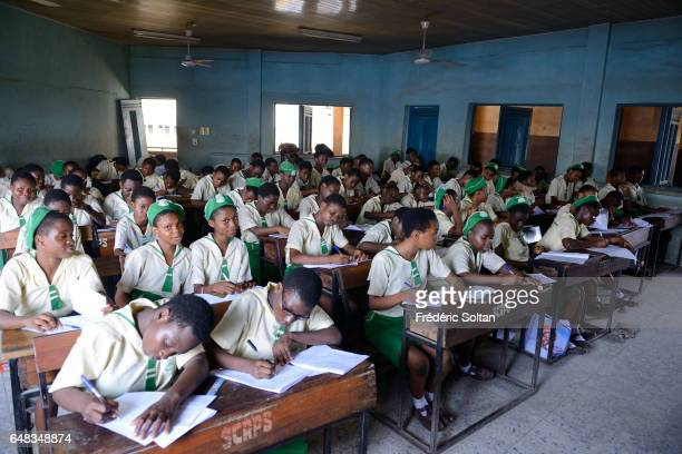 Public school for girls in Mainland area on March 17 2016 in Lagos Nigeria