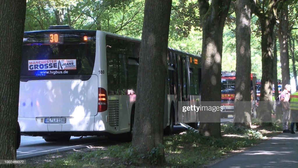 Several Injured In Knife Attack On Bus In Luebeck