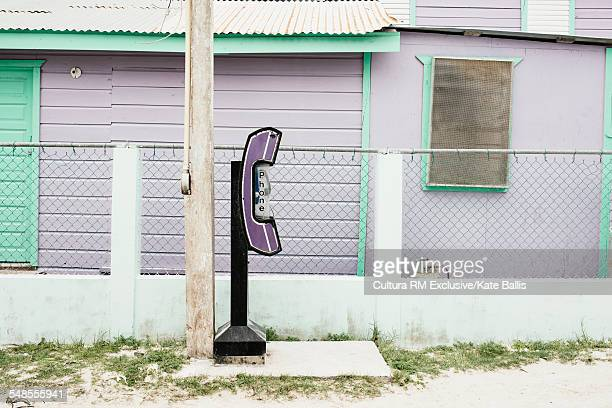 Public telephone, Caye Caulker, Belize