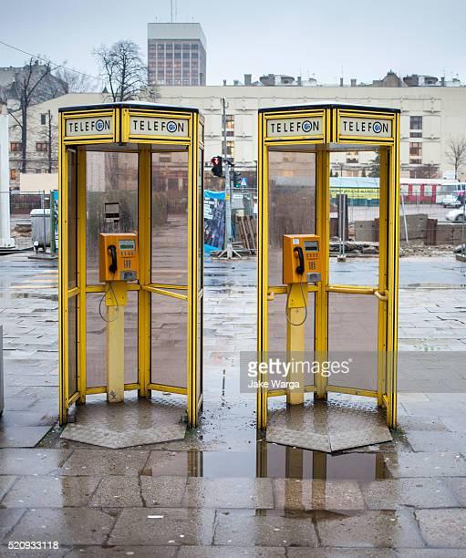 Public Telephones, Lodz, Poland