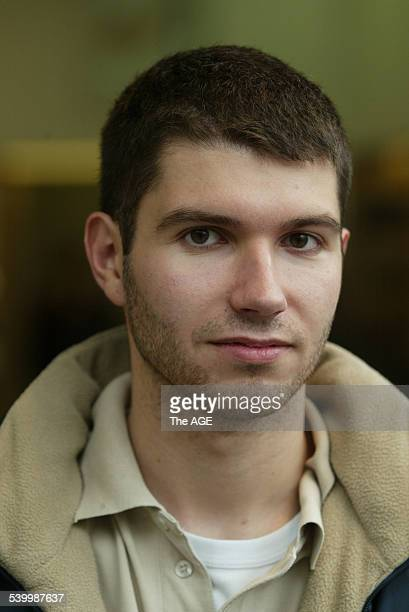Public Transport Vox Pop Chris Trikilis 21 from Doncaster on 17th May 2006 THE AGE NEWS Picture by NICOLE EMANUEL