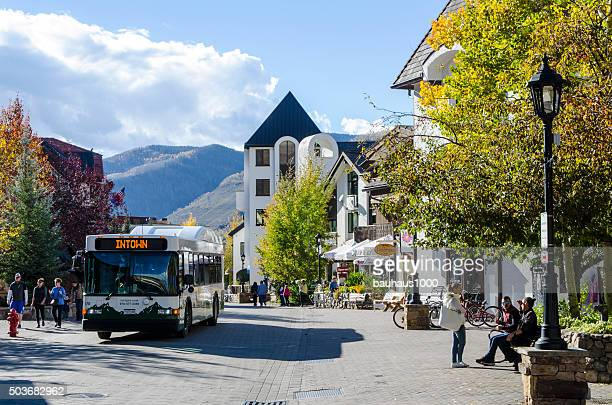 Public Transportation for Vail Village in Vail, Colorado