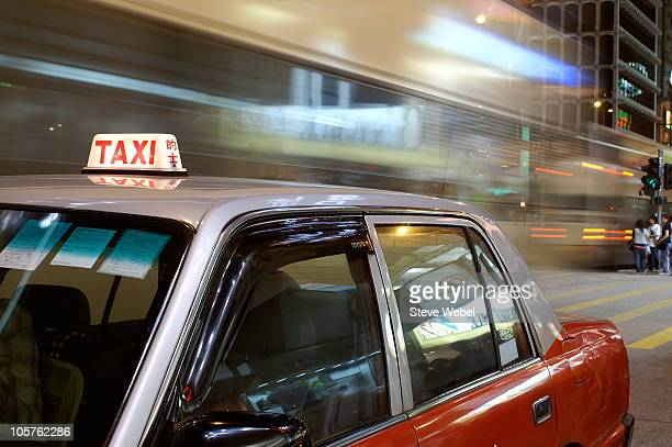 public transportation, hong kong - kowloon peninsula stock pictures, royalty-free photos & images