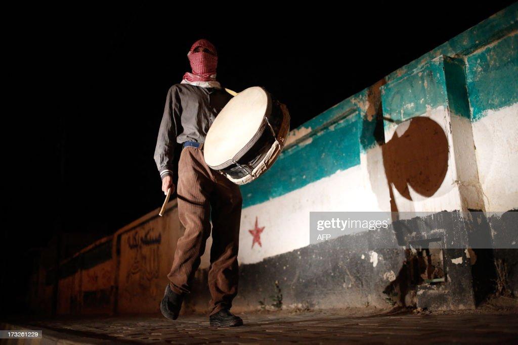 SYRIA-CONFLICT-ISLAM-RAMADAN : News Photo