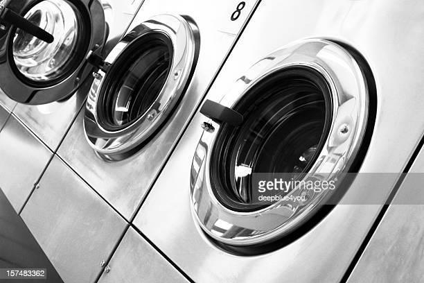 Public washing machines