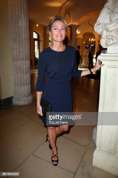 Publicis event at the Comedie Francaise in Paris Anne Sophie Lapix May 31 2017