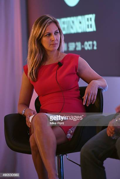 Publicis Worldwide North America CMO Julie Levin speaks onstage at the The Location Summit panel presented by The Weather Company during Advertising...