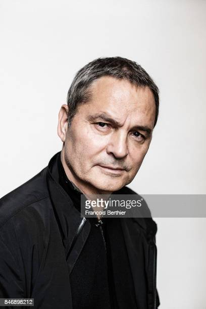 Publicist Bruno Barde is photographed on September 9 2017 in Deauville France