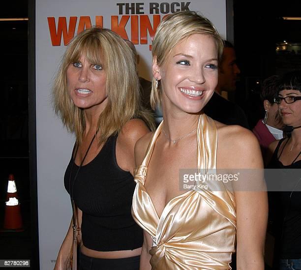 Publicist Cindy Guagenti and Ashley Scott
