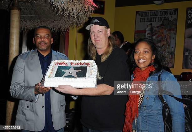 Publicist J Michael Arnoldi attends Britticares Toy Drive with a benefit concert by G Tom Mac Many Of Odd Nature in conjunction with publicist...