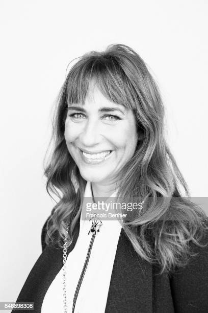 Publicist Karolyne Leibovici is photographed on September 9 2017 in Deauville France