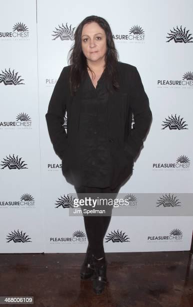 Publicist Kelly Cutrone attends the Pleasure Chest Launch Party on February 8 2014 in New York City