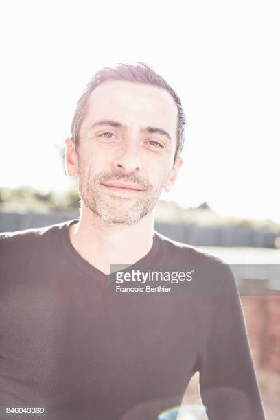 Publicist Matthieu Rey is photographed on September 2 2017 in Deauville France