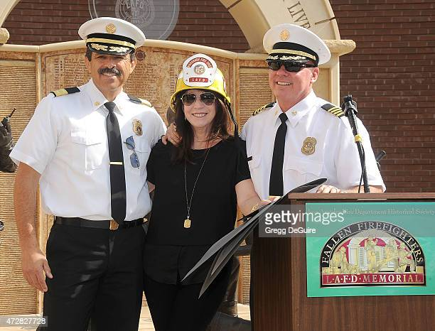 Publicist Nanci Ryder who was diagnosed with ALS earlier this year was honored today by the Los Angeles Fire Department as Chief Of The Day at the...