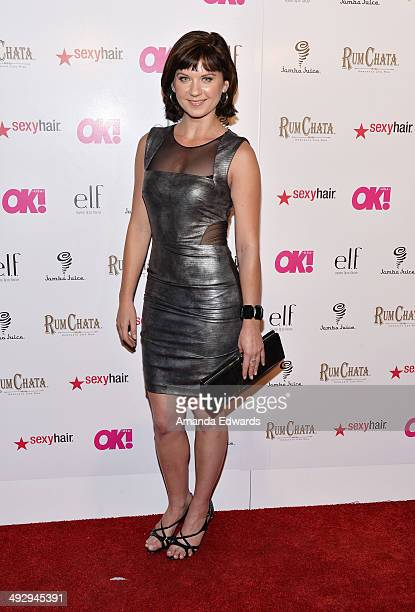 Publicist Natasha Lee arrives at OK Magazine's So Sexy LA Event at Lure on May 21 2014 in Hollywood California