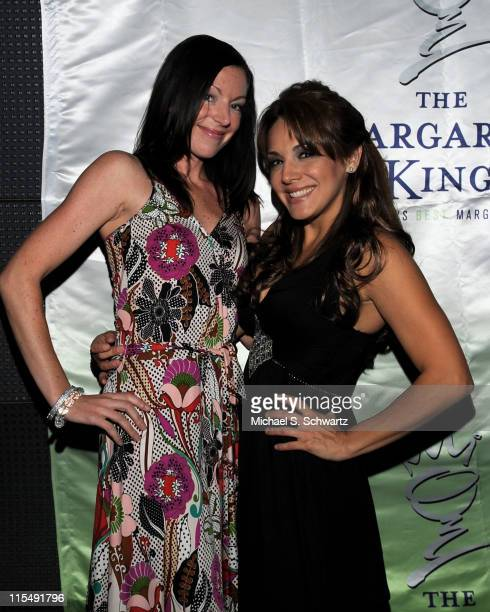 Publicist Nicole Elieff and comedian JillMichele Melean attend JillMichele Melean's Birthday Bash at Holly's on June 25 2008 in Hollywood California