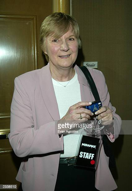 Publicist Pat Kingsley attends the Miramax PreOscar Max Awards party at the St Regis Hotel in Century City March 22 2003 in Los Angeles