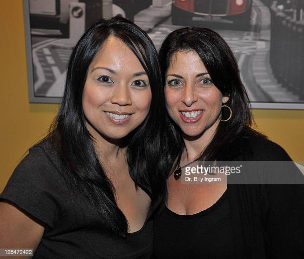 Publicist Patty Onagan and Writer Michelle Kholos Brooks attend the after party for the Open Night Premiere of the Play Love And Other Allergies at...