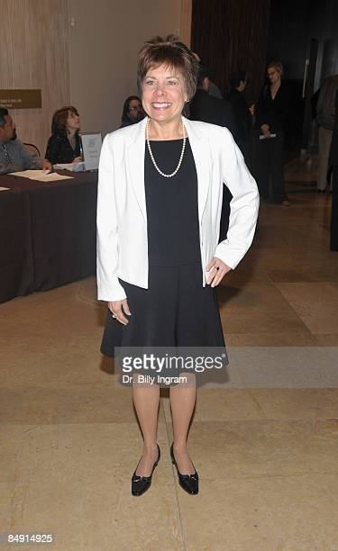 Publicist Rosalind Jarrett arrives at the 46th Annual ICG Publicists Awards at the International Ballroom at the Beverly Hilton Hotel on February 18,...