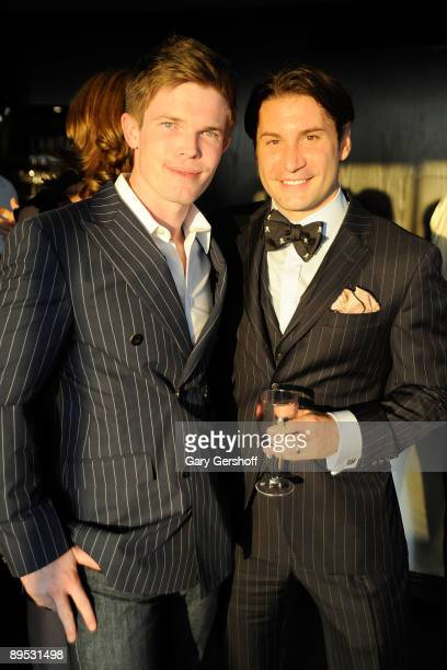 """Publicist Ryan Wells and publicist/author Marco Larsen attend the """"DON'T"""" book launch hosted by PUBLIC nyc and Gotham Magazine at the Penthouse at..."""