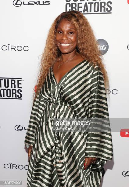 Publicist Yvette Noel-Schure attends the Culture Creators Innovators & Leaders Awards at The Beverly Hilton on June 26, 2021 in Beverly Hills,...