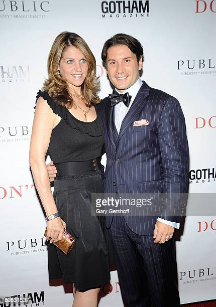 """Publicist/author Marco Larsen and wife Sarah Larsen attend the """"DON'T"""" book launch hosted by PUBLIC nyc and Gotham Magazine at the Penthouse at Hotel..."""