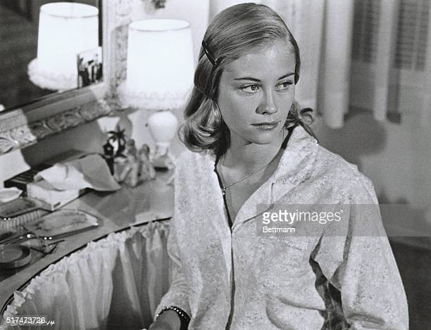 Publicity film still of Cybill Shepherd in a scene from the 1971 movie The Last Picture Show